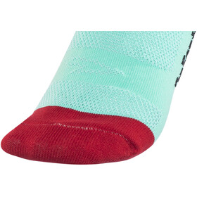 DeFeet Hi Rouleur Aireator Fuse Single Cuff Socken blau/rot/schwarz /weiß
